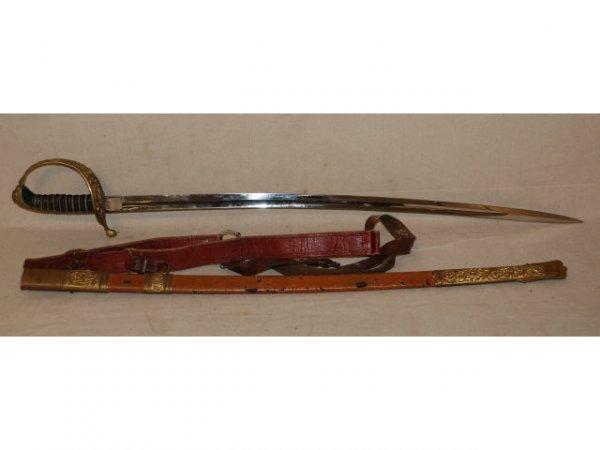 349: Weyersberg & Stamm Solingen Sword & Sheath