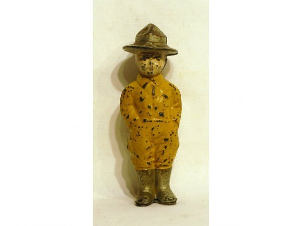12: Doughboy Soldier Grey Iron Works Bank