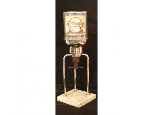 153: 1900s Dr Pepper Counter Top Syrup Dispenser