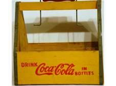 180 Vintage CocaCola Wooden Bottle Carrier