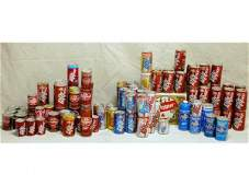613 Large Collection Dr Pepper Soda Cans