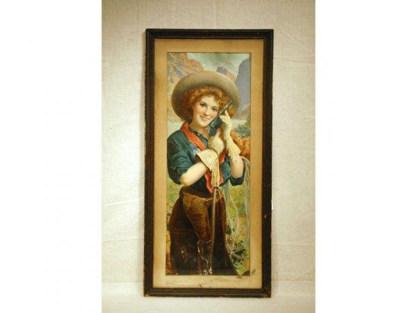 34: Annie Oakley Hopkins & Allen Gun Advertising