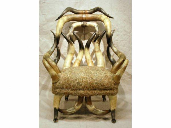 84: Wenzel Friedrich No 6 Horn Chair San Antonio TX