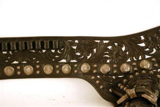 220A: Edward H Bohlin Hollywood Holster Gun Belt Rig