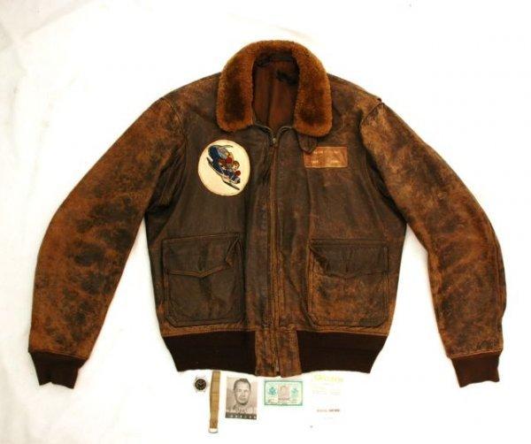 505: Bill Jordan's WW II Fighter Pilot Jacket