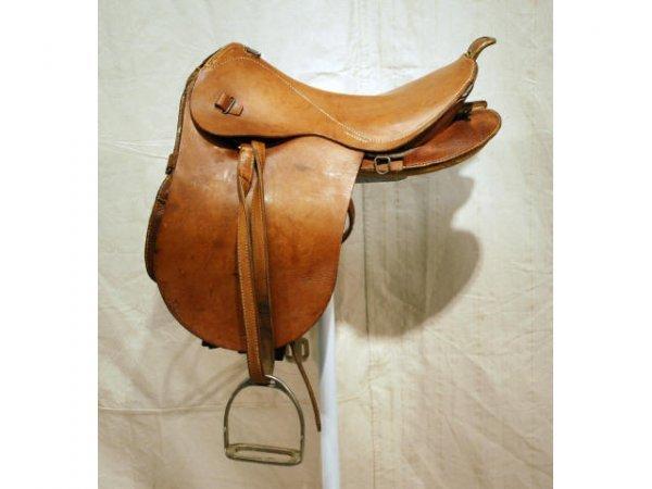 507A: World War II Japanese Officers Saddle