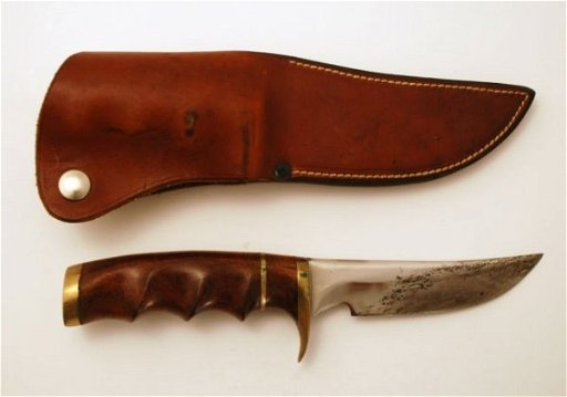 511: Custom Made Knife Fisher Victoria Texas