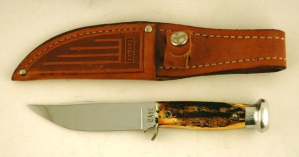 513: Case XX Stag Handled Hunting Knife