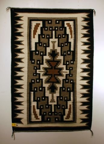 519: Navajo Rug Two Gray Hills By Mary Henderson