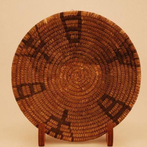 523: Papago Basketry Tray Circa 1900s