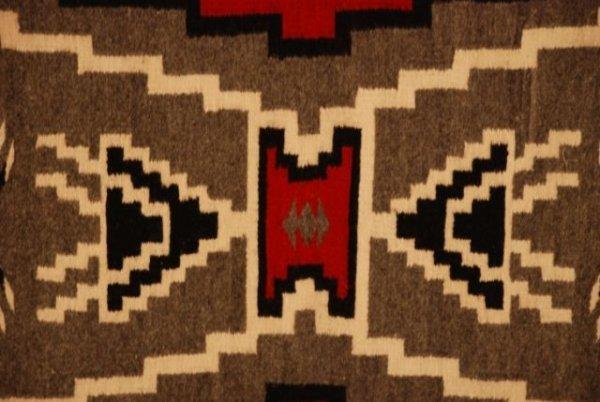 524: Navajo Weaving, Storm Pattern