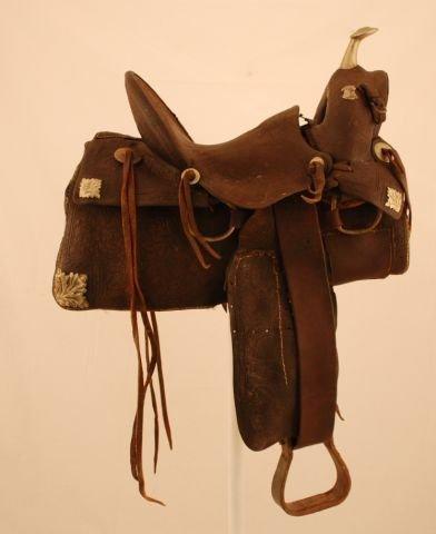 525A: E. T. Amonett Roswell, New Mexico Saddle