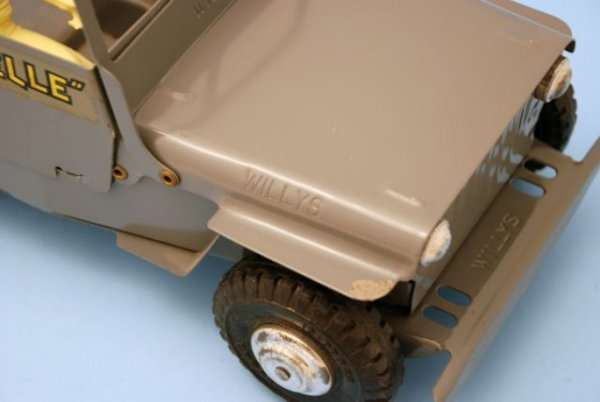 625: Roy Rogers Nelly Belle Toy Jeep Mint In Box Marx - 10