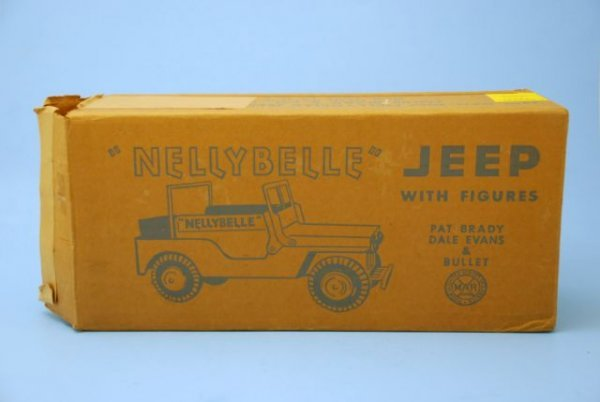 625: Roy Rogers Nelly Belle Toy Jeep Mint In Box Marx - 2