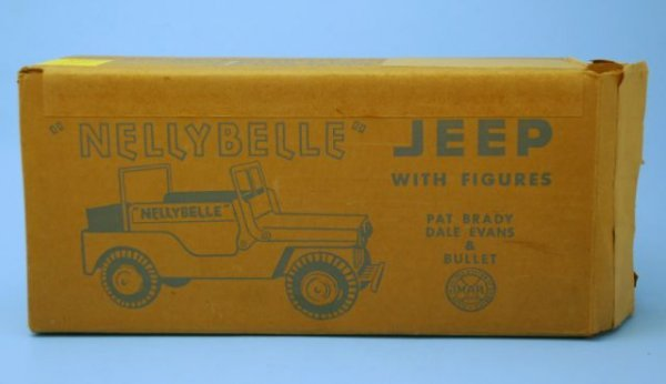 625: Roy Rogers Nelly Belle Toy Jeep Mint In Box Marx - 3