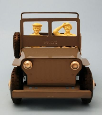 625: Roy Rogers Nelly Belle Toy Jeep Mint In Box Marx - 6