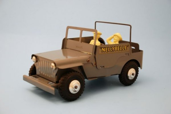 625: Roy Rogers Nelly Belle Toy Jeep Mint In Box Marx - 7