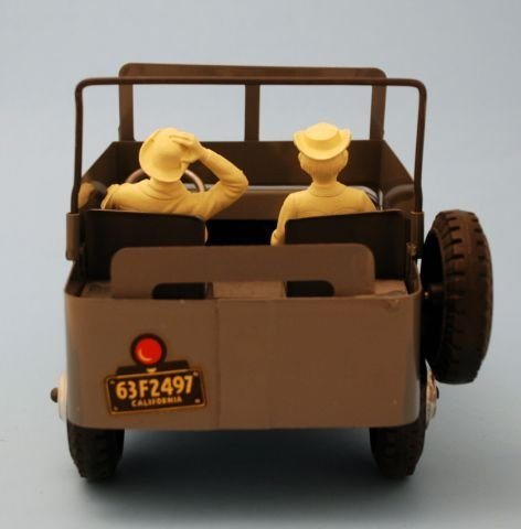625: Roy Rogers Nelly Belle Toy Jeep Mint In Box Marx - 9