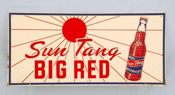 4: Sun Tang Big Red Tin Sign