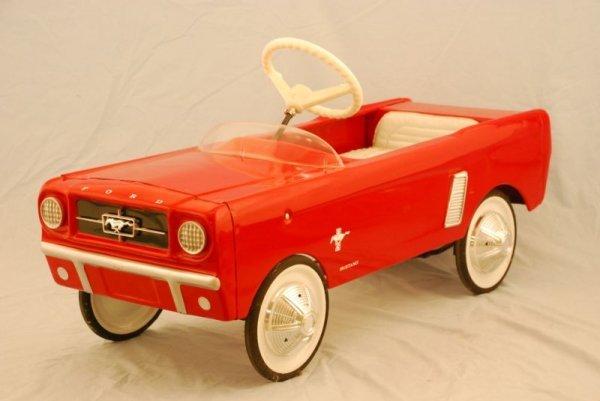 14: 1965 Mustang Pedal Car