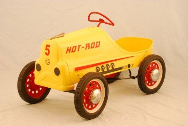 15: Garton Hot Rod Pedal Race Car 1950s