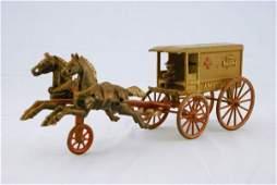 98: Rare Kenton Horse Drawn 2nd Regiment Ambulance