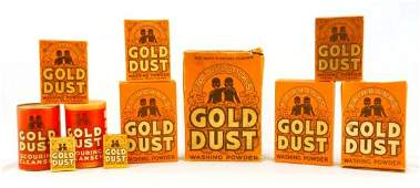 427: Gold Dust Black Americana Country Store Collection