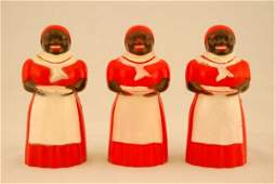 437 Collection of 3 Aunt Jemima Syrup Dispensers FF