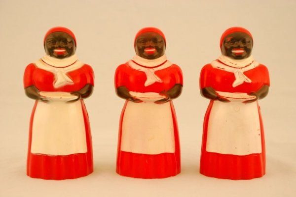 437: Collection of 3 Aunt Jemima Syrup Dispensers F&F