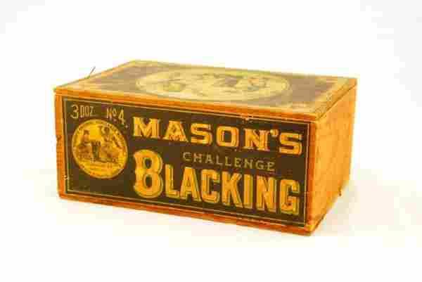 Mason's Challenge Black Americana Store Crate