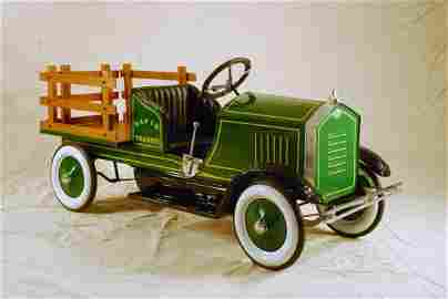 409: American National Stake Bed Truck Pedal Car