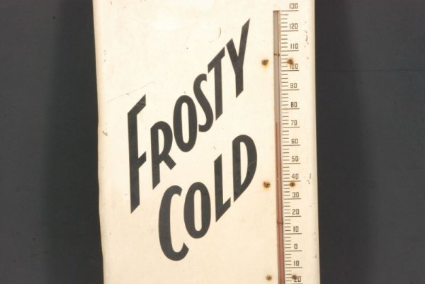 611: 1958 Dr Pepper Frosty Cold Thermometer - 3
