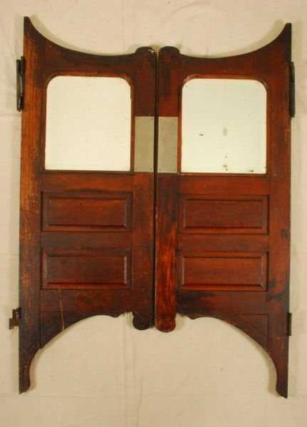 - 391A: Pair Of Antique Saloon Doors