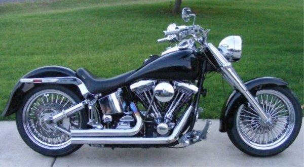 483: Custom 1997 Harley Davidson Fatboy