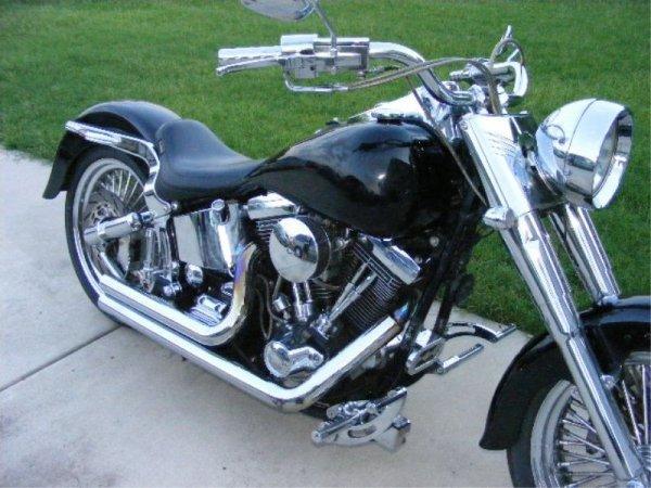 483: Custom 1997 Harley Davidson Fatboy - 3