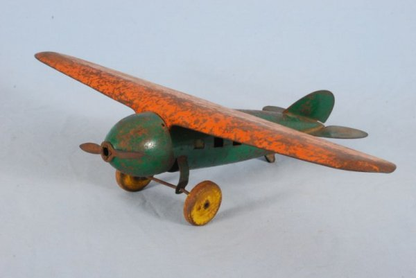 9: Metalcraft Toy Airplane