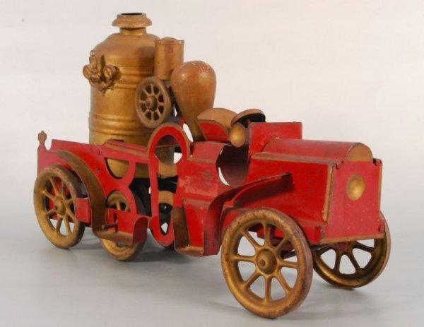 22: Hill Climber Tin Toy Fire Truck