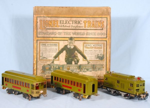 23: 1923 Lionel Electric Train Set In Box