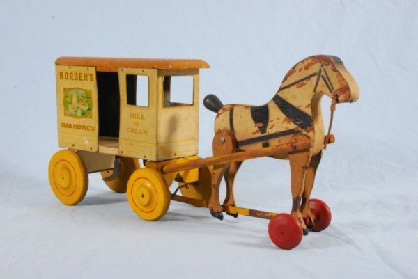 29: Rich Toys Borden's Dairy Milk Cart Toy