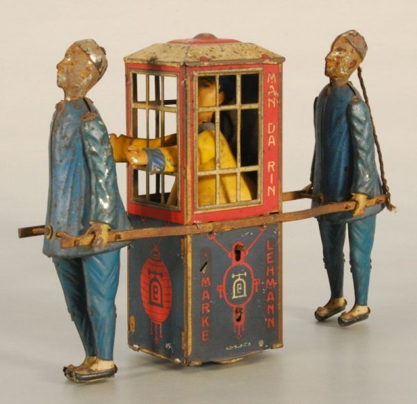 60: Lehmann Mandarin German Tin Wind-Up Toy