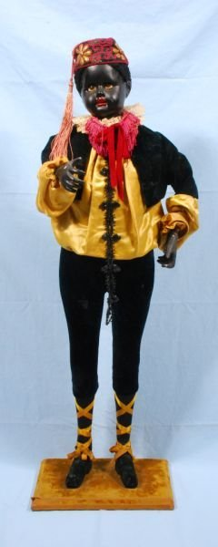 127: Victorian French Automaton Blackamoor