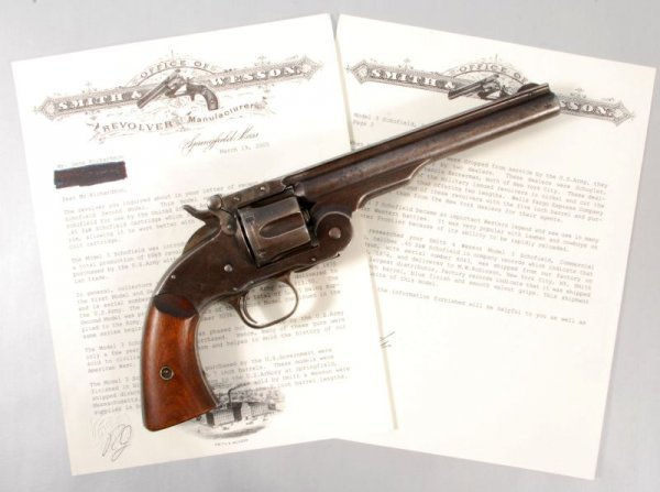 141: Smith & Wesson Model 3 Schofield 2nd Model