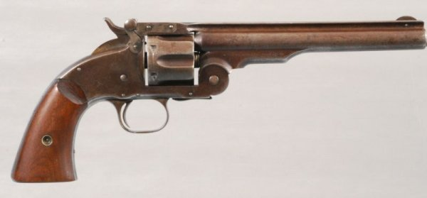 141: Smith & Wesson Model 3 Schofield 2nd Model - 2