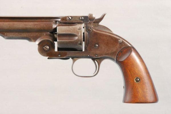 141: Smith & Wesson Model 3 Schofield 2nd Model - 7