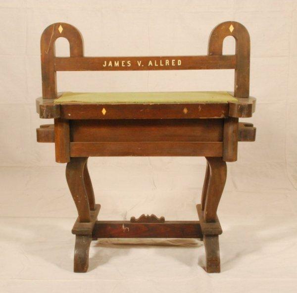 261: Former Texas Governor James Allred's Saddle Stand