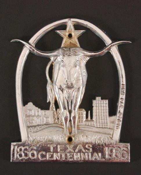 264: Texas Centennial Wall Decoration 1836 - 1936