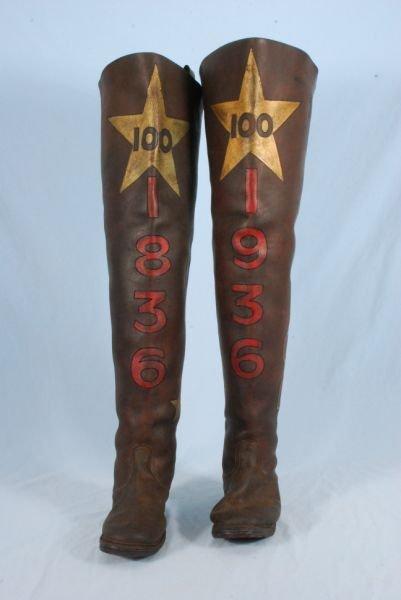265A: Large Scale 1936 Texas Centennial Boots