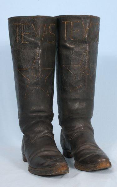 265B: 1886 Texas 50-Year Celebration Boots