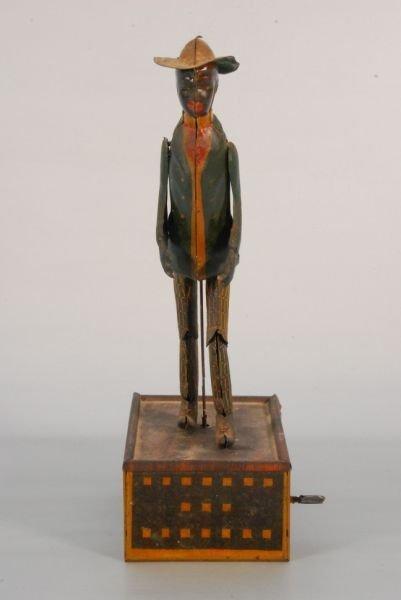 271: Strauss Tombo The Alabama Coon Jigger Tin Toy