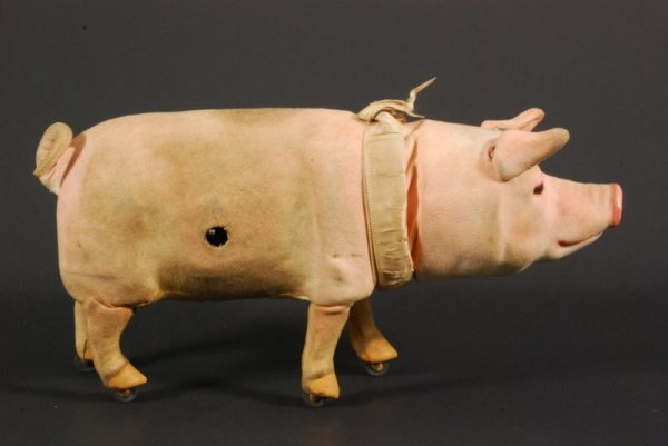 273: Early Wind Up Toy Pig